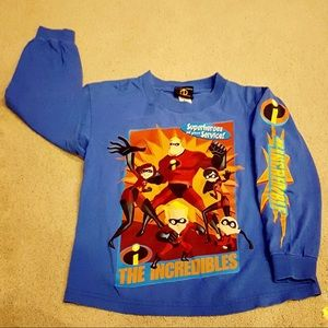 Boys The Incredibles Long Sleeve Tee